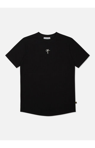Off The Pitch The Atomic Slimfit Tee Black