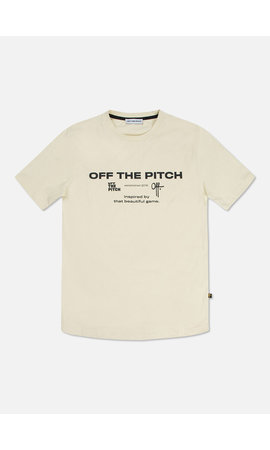 Off The Pitch The Sage Slimfit Tee Oyster