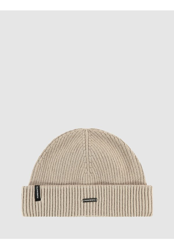 Winter Knit Beanie - Taupe