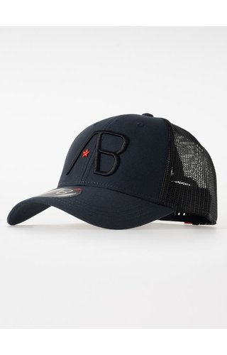 AB-Lifestyle Retro Trucker Cap 2Tone - Black/Navy