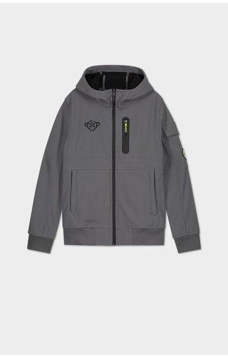 Black Bananas JRFW21/004 JR Spyro Softhshell Jacket Grey