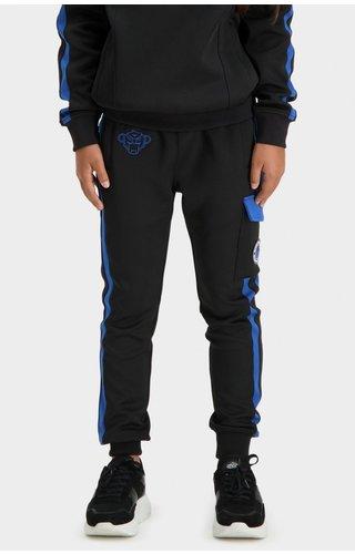 Black Bananas JRFW21/031 Jr Analog Trackpants - Black/Blue