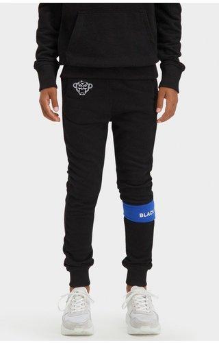 Black Bananas JRFW21/033 Jr Command Sweatpants - Black/Blue
