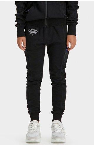 Black Bananas JRFW21/039 Jr Trooper Sweatpants - Black/Blue
