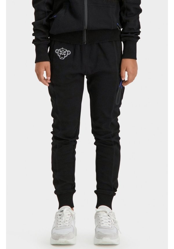 JRFW21/039 Jr Trooper Sweatpants - Black/Blue