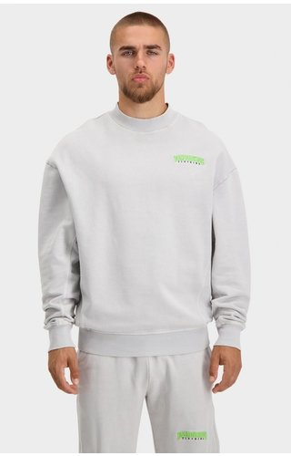 Black Bananas Unisex Noise Sweater FW21/076 Washed Grey