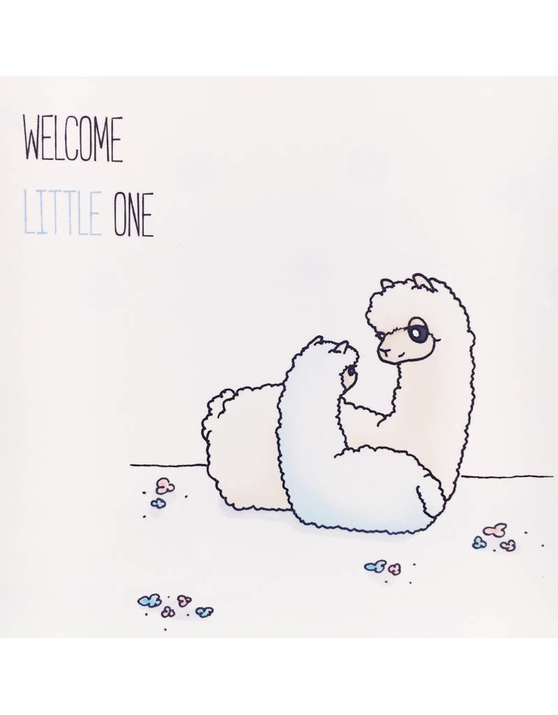 Inkari Welcome Little One - Licht Blauw