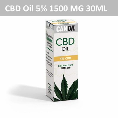 Canoil CBD Oil 5% (1500 MG) 10ML Full Spectrum CBD huile de graines de chanvre