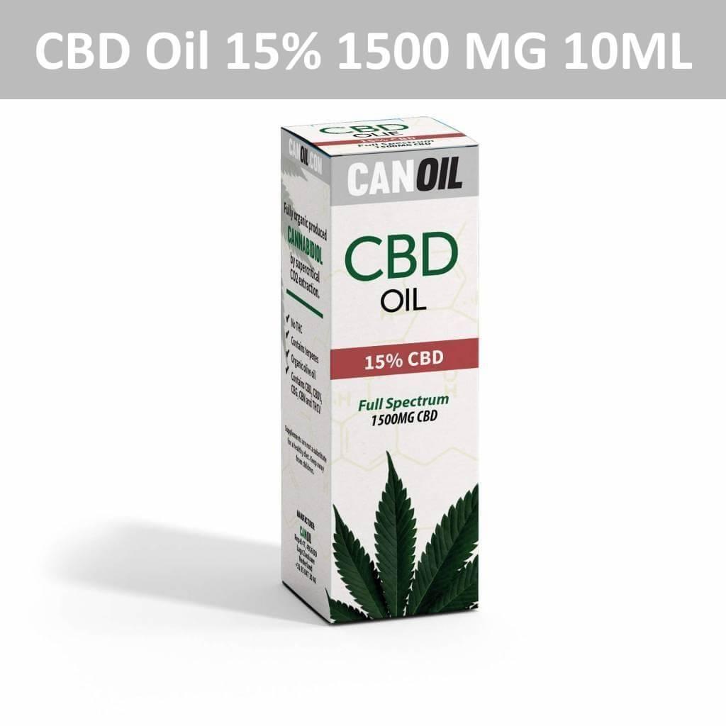 Canoil CBD Oil 15% (1500 MG) 10ML Full Spectrum CBD Hempseed