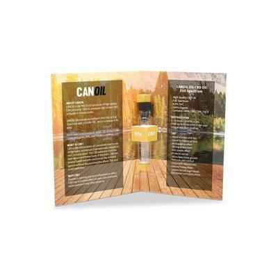 Canoil Sample 1ml 5% CBD Hempseed Oil Full Spectrum (English)