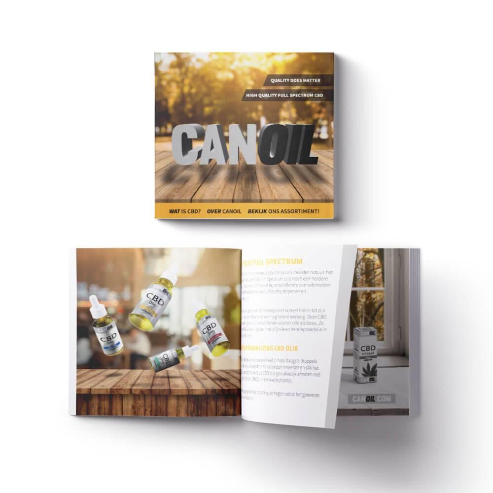 canoil cbd information brochure dutch 100 pieces canoil