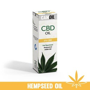Canoil CBD Oil 5% (500 MG) 10ML Full Spectrum CBD huile de graines de chanvre