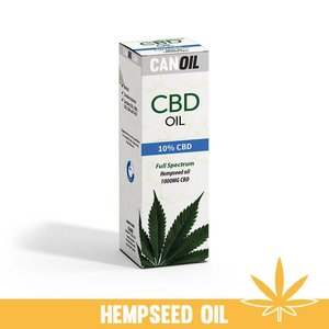 Canoil CBD Oil 10% (1000 MG) 10ML Full Spectrum CBD Hempseed oil