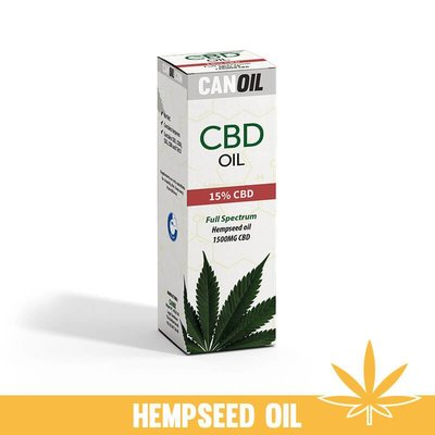 Canoil CBD Oil 15% (1500 MG) 10ML Full Spectrum CBD huile de graines de chanvre