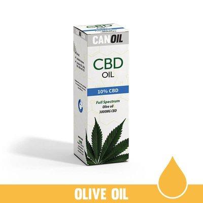 Canoil CBD  Oil 10% (3000 MG) 30ML Full Spectrum CBD Huile d'olive