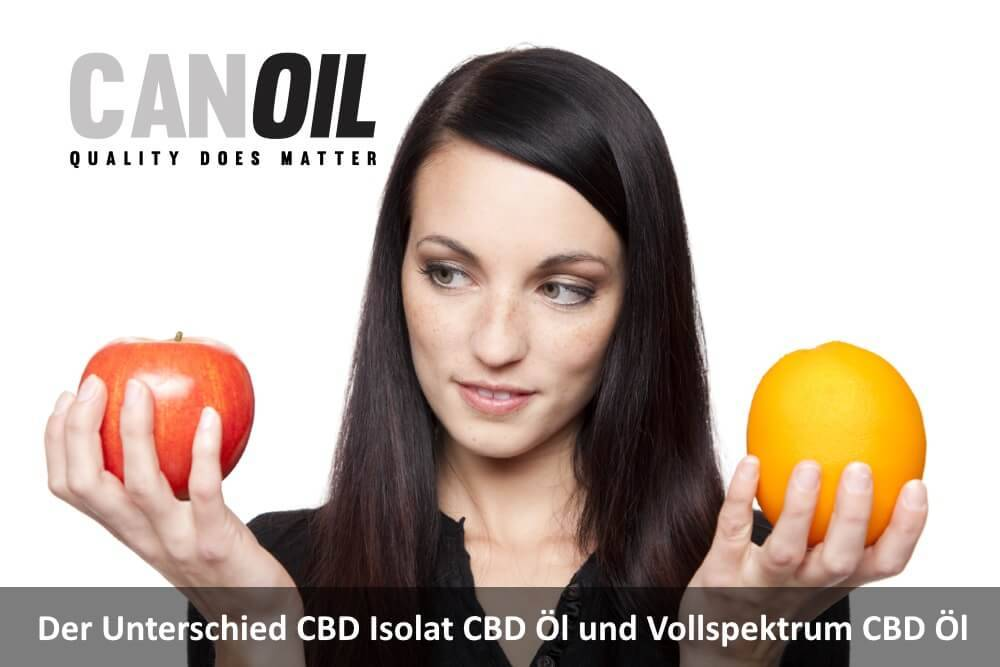 Der Unterschied CBD Isolat CBD Öl und Vollspektrum CBD Öl