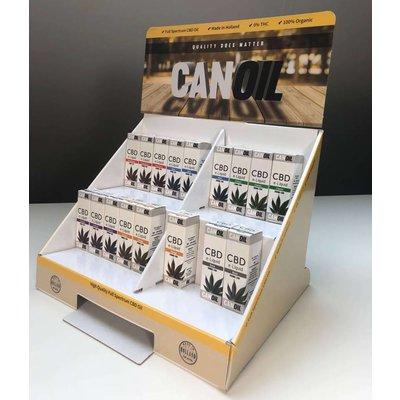 Canoil Paquet de promotion CBD E-Liquide CBD grand anglais