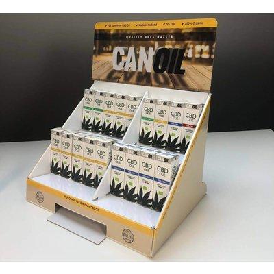 Canoil Paquet de promotion d'huile de CBD petit modèle anglais
