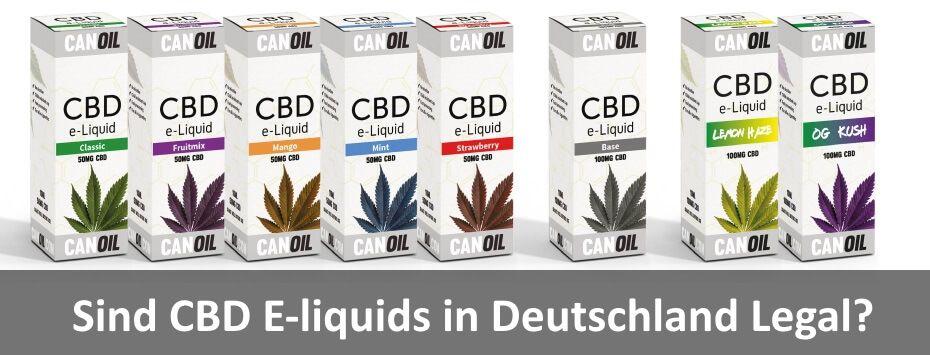 Sind CBD E-Liquids in Deutschland legal?