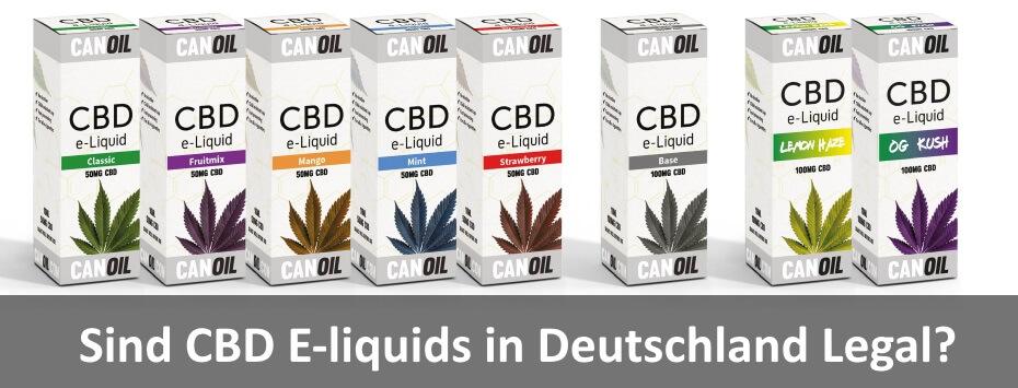 Canoil CBD e-liquids Deutschland