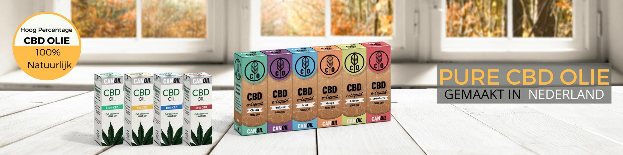 CBD Groothandel in CBD E-liquids en Nederlands geproduceerd banner 2