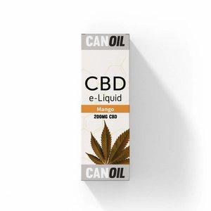 Canoil CBD E-liquid Mango 200 mg  - Engels