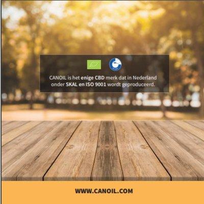 Canoil CBD informatie boekje Nederlands