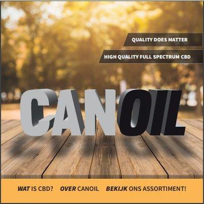Canoil CBD informatie boekje Nederlands (10 Stuks)