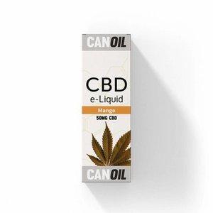 Canoil CBD E-liquid Mango, 50 mg - Engels