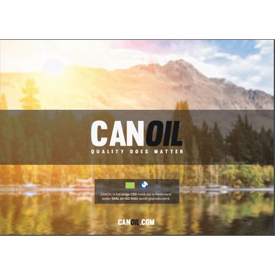 Canoil CBD Olie & CBD e-liquids 20 flyers NL