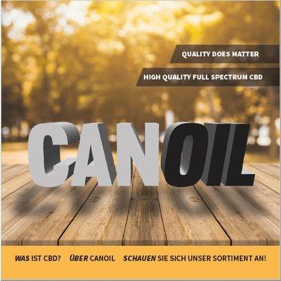Canoil CBD informatie boekje Duits
