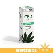 Canoil CBD Olie 2,5% (250 MG) 10ML Full Spectrum met Hennepzaad Olie