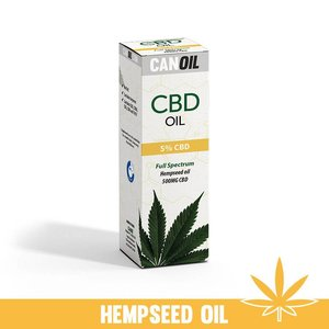 Canoil CBD Olie 5% (500 MG) 10ML Full Spectrum met Hennep Olie