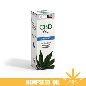 Canoil CBD Olie 10% (1000 MG) 10ML Full Spectrum met Hennep Olie