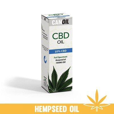 Canoil CBD Olie 10% (1000 MG) 10ML Full Spectrum met Hennep Olie