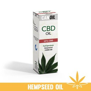 Canoil CBD Olie 15% (1500 MG) 10ML Full Spectrum met Hennep Olie