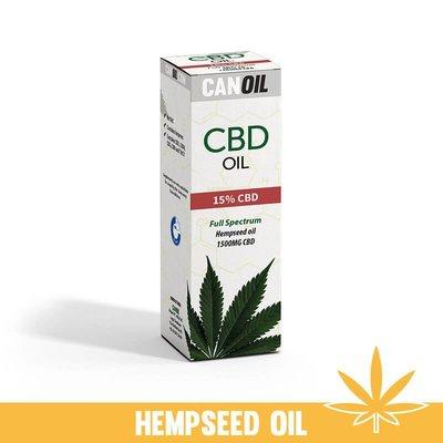 Canoil CBD Olie 15% (1500 MG) 10ML Full Spectrum met Hennepzaad Olie