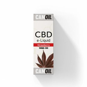 Canoil CBD E-liquid Strawberry 100 mg - Engels