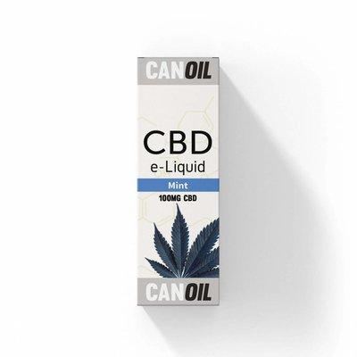 Canoil CBD E-liquid Mint 100 mg - Engels
