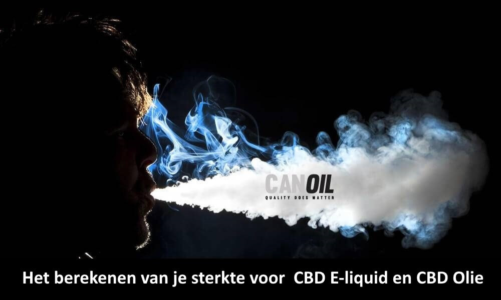 Canoil CBD e-liquids en CBD olie | Hoe bereken ik de sterkte ?