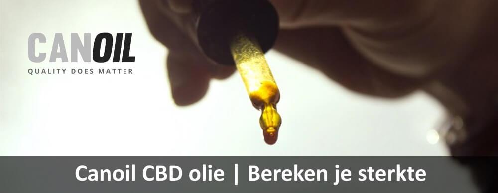 CBD olie| bereken je sterke