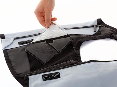 cani.cool Cooling Vest PRO - Gilet de remplacement sans PCM Pacs