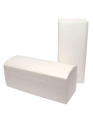 Z-vouw handdoeken - 2 laags - 24 x 21 cm.