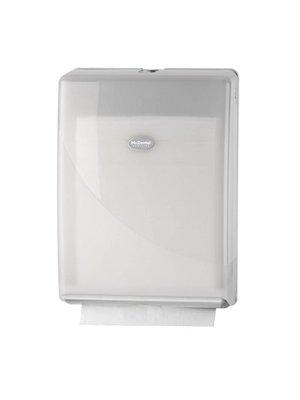 Handdoekdispenser Multifold en C-fold wit