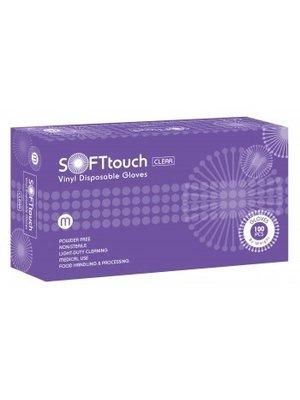 Soft Touch Soft Touch Vinyl handschoenen – 100 stuks - wit