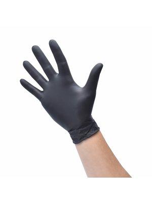 Beschadigde verpakking - Aurelia Bold Black - zwart - nitril handschoenen - 100 stuks