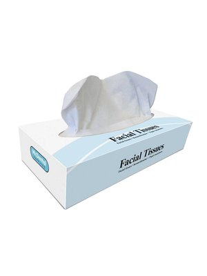 Beschadigde verpakking - Facial tissues