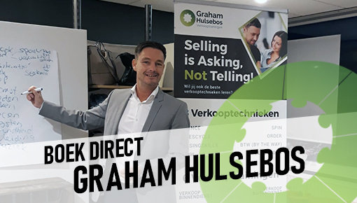Book Graham Hulsebos for your Sales Training