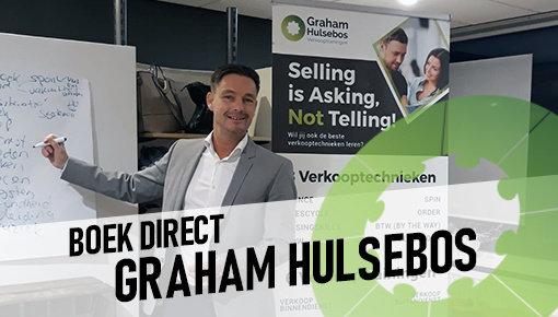Boek Graham Hulsebos voor Verkooptrainingen