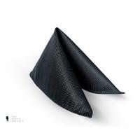 Tresanti zwarte handschoenen van hertenleder